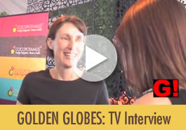 Cocopotamus best chocolate for the golden globes interview with Gosh TV