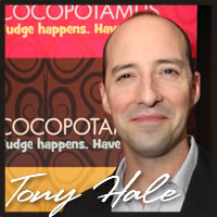 Tony Hale tasting best chocolate truffles at the Emmys