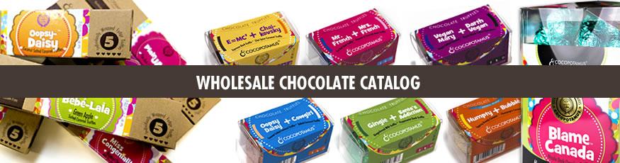 Wholesale chocolate catalog: gourmet handmade gluten free wholesale chocolate truffles