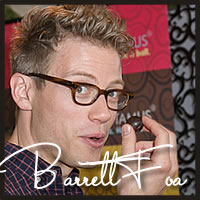 barrett foa, best chocolate, caramel, golden globe, awards, celebrities, chocolate gifts