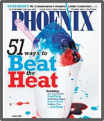 chocolate review, chocolate fudge on phoenix magazine